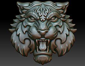 Tiger pendant tiger 3D printable model