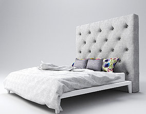 3D Upholstered - Buttoned Headboard