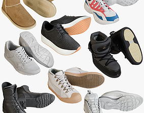 Sneakers Collection 10 3D PBR