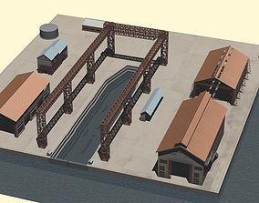 Imperial Japanese Naval Ship Yard 3D model