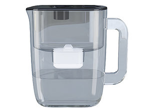 3D Water Filtering Pitcher