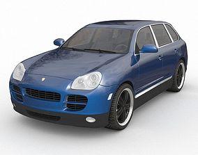 3D model Porsche Cayenne