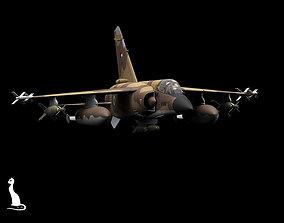 3D model Dassault Mirage F1 Kuwait scheme