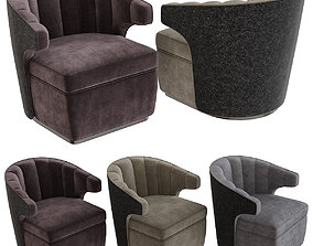 The Sofa and Chair Co - Gibbs Armchair 3d model low-poly