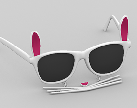 Sunglasses 3D model low-poly