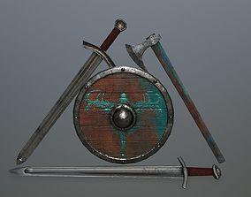 viking set 4 3D asset