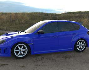 Subaru Impreza WRX STi Hatchback Tune 3D model