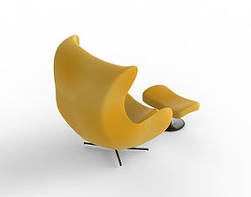 3D model VR / AR ready Chair arm-chair