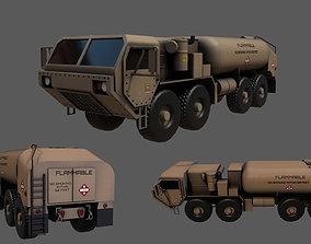 military truck oshkosh m978a4 3d model VR / AR ready