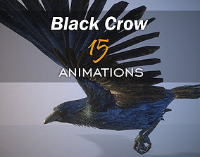 3D model Black Crow 15 animations