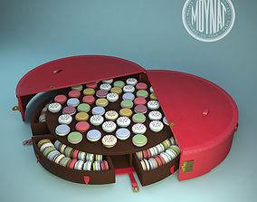 La malle Macaron de Moynat 3D