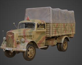 Opel Blitz WW2 German Truck 3D model