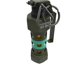 3D printable model M84 FLASHBANG GRENADE