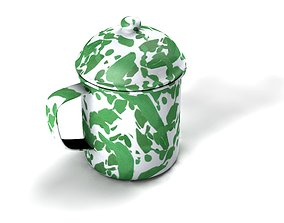 3D model cangkir or cup