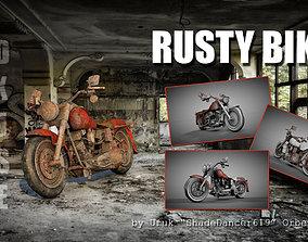 Rusty Bike 3D model