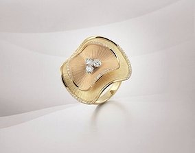 jewellery ring trend and fashion ring 3D print model