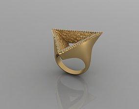 3D printable model T190- Diamond ring
