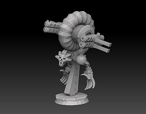 3D print model Nautiloid Horror Heavy Carapace