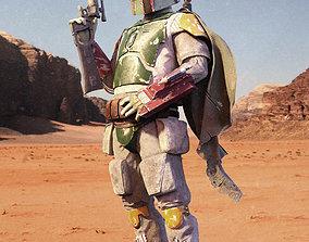 3D model Boba Fett - Return of the Jedi