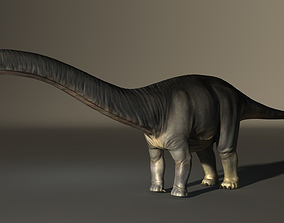 3D Apatosaurus High Poly