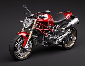 3D 2009 Ducati Monster 1100s