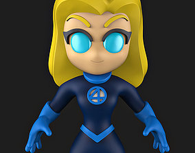 3D printable model Susan Storm FANTASTIC FOUR