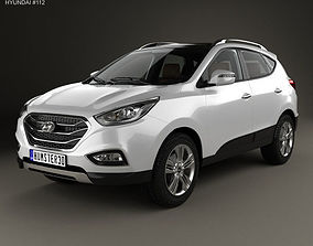 3D Hyundai Tucson with HQ interior 2014