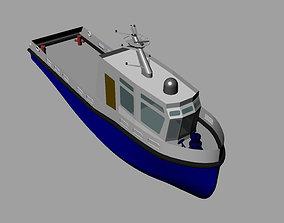 Agencies boat 3D model