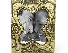 3D asset Antique Photo Frame