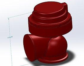 38mm Tial Wastegate 3D printable model