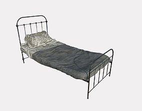 Dirty Single Bed 3D