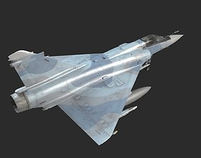 Dassault Mirage 2000 Fighter With Various 3D model