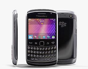3D model BlackBerry 9360 Black