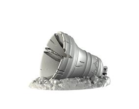 Fallen Bell 3D print model