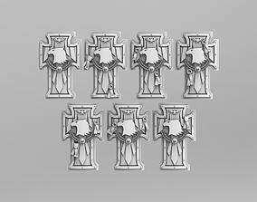 Raptor Power Shields 40k Version 1 3D print model