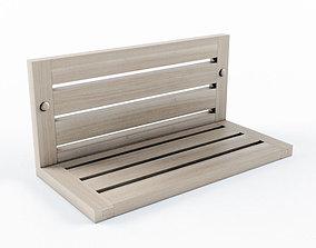 3D Wooden shelf Svedbergs Rustik
