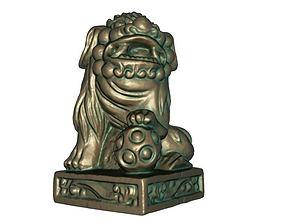 Lion Statue 3D print model
