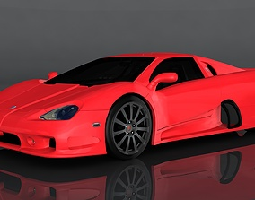 SSC Ultimate Aero 3D model VR / AR ready