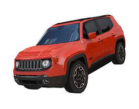 3D model Jeep Renegade 2016 4X4