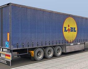 3D model LIDI TRAILER