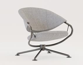 Citizen Low Back Chair 3D asset