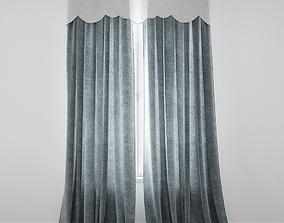 Curtain 72 3D model