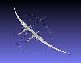 Sword Art Online Sinon Alfheim Bow Printable Assembly