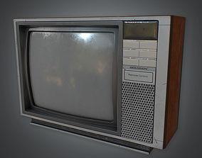3D asset Television 02 Retro 80s