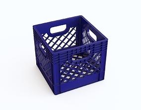 Plastic crate 25 3D model
