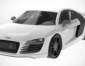 3D model Audi R8 V10 2013