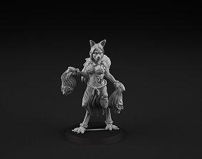 Foxy cheerleader 1 3D print model