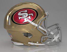 Helmet NFL Casco sport pro 3D