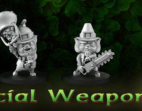 Special weapon leprechauns 3D printable model
