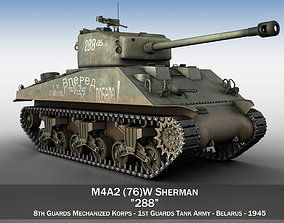 3D model M4A2 Sherman - 288 - Russia